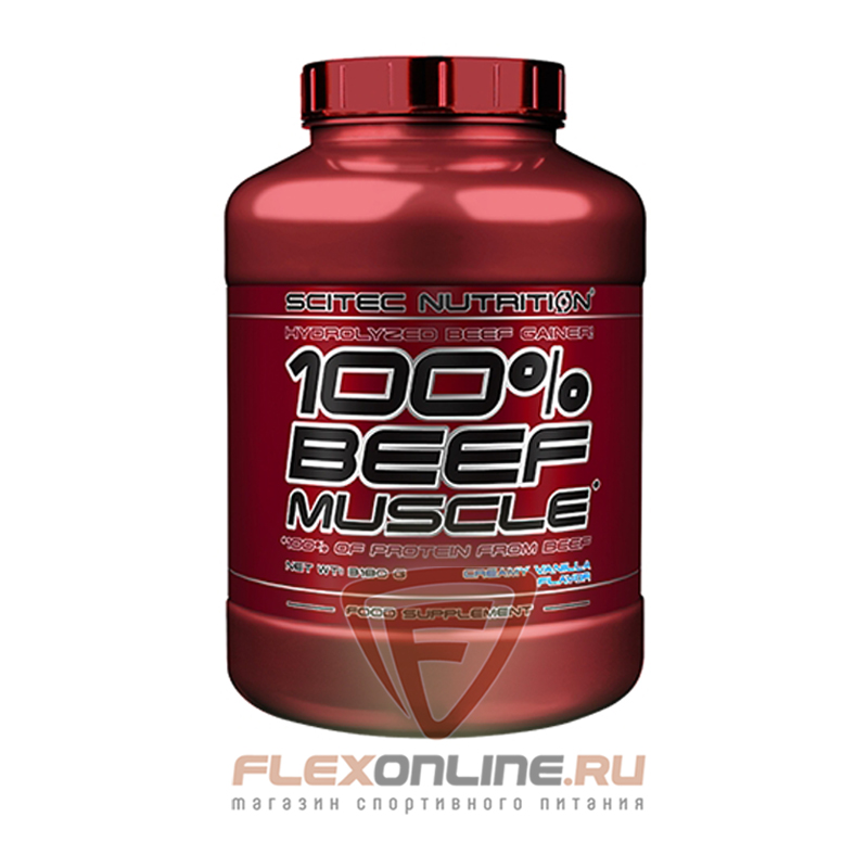 Протеин 100% Beef Concentrate от Scitec