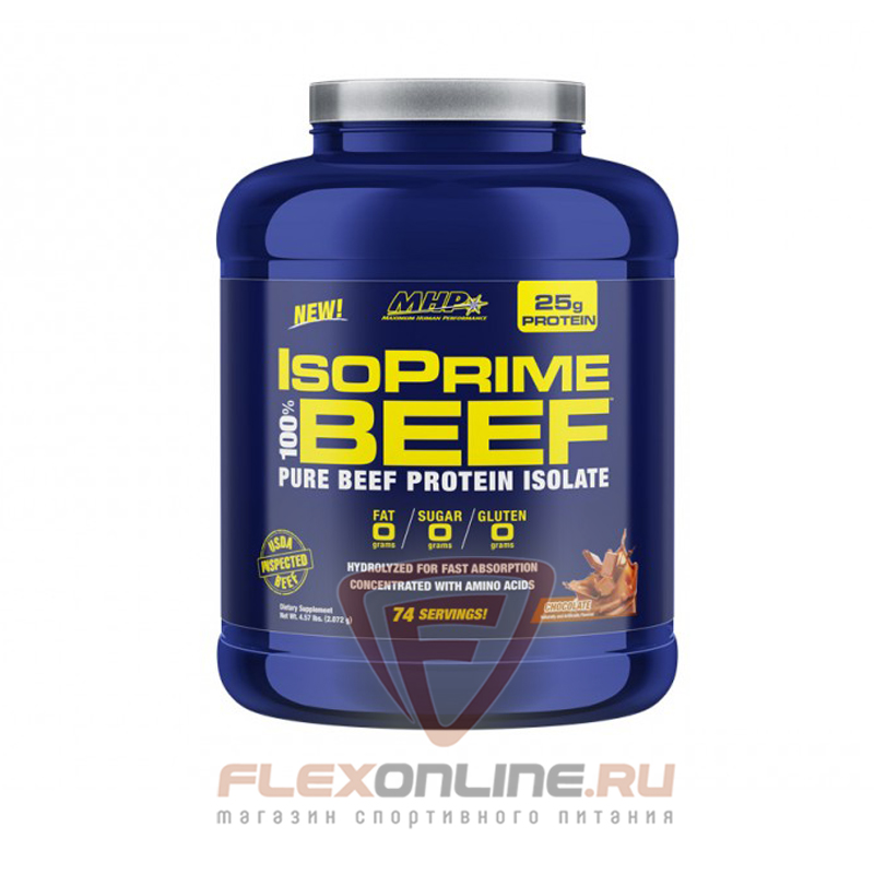 Протеин IsoPrime 100% BEEF от MHP