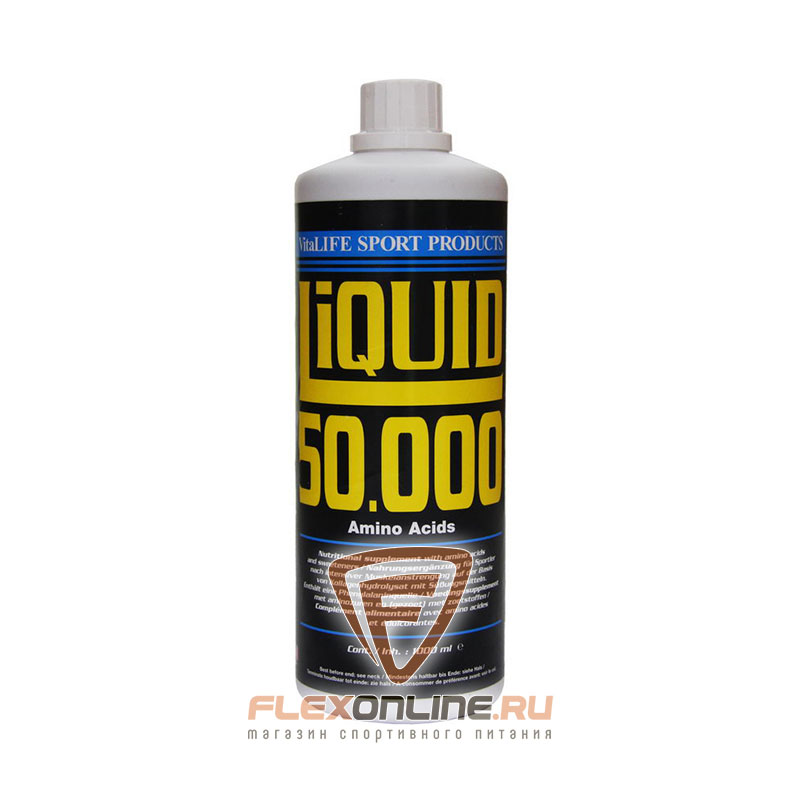 Аминокислоты Liquid 50000 Amino Drink от VitaLife