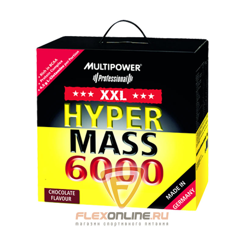 Гейнер Hyper Mass 6000 от Multipower