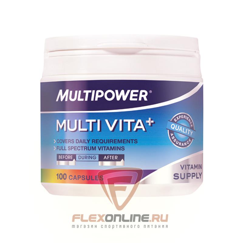 Витамины Multi Vita+ от Multipower