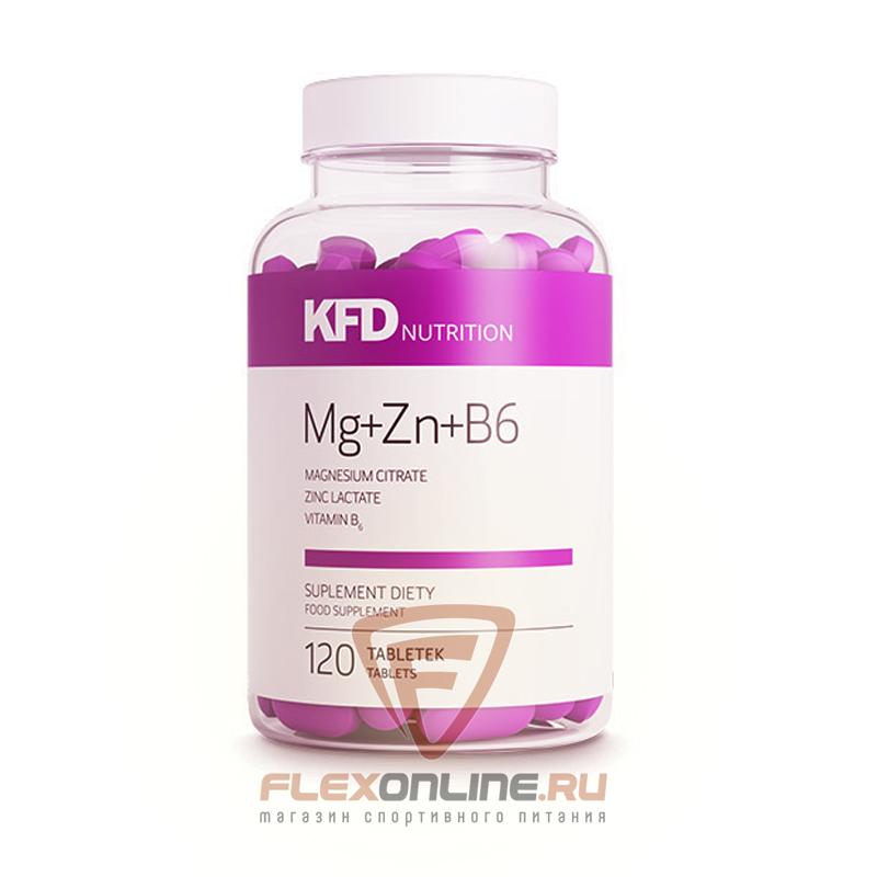 Тестостерон ZMA Mg+Zn+B6 от KFD