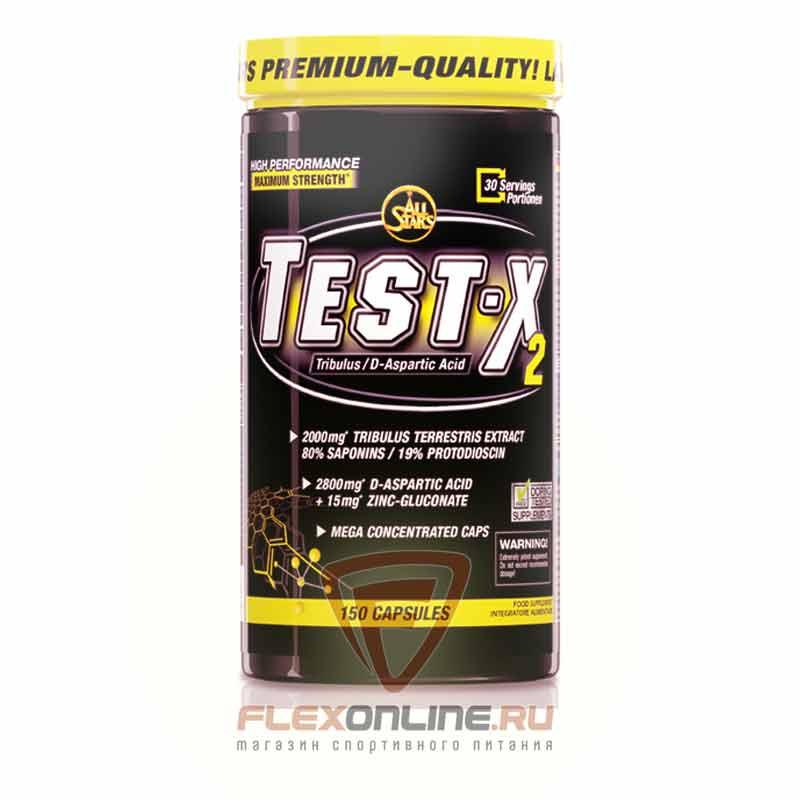 Тестостерон Test-X2 от All Stars