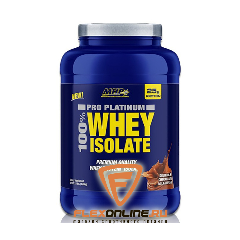 Протеин Pro Platinum 100% Whey Isolate от MHP