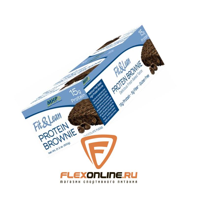 Шоколадки Fit & Lean Protein Brownie от MHP