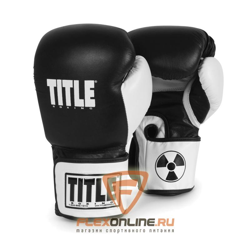 Cнарядные перчатки Боксерские перчатки снарядные 14 унций от Title