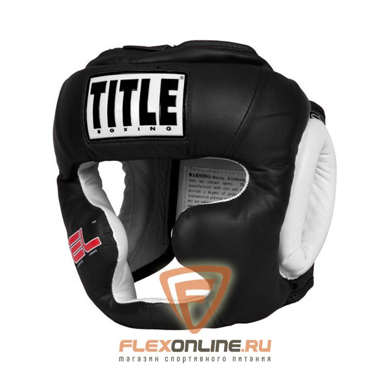 Шлемы Боксерский шлем тренировочный черный REG от Title