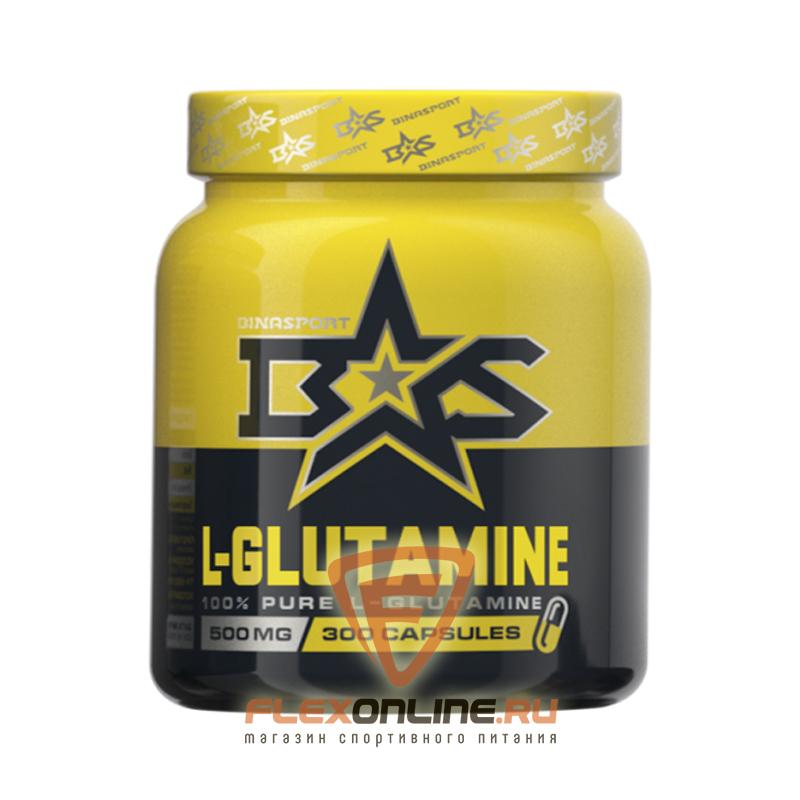 L-глютамин L-glutamine Caps от Binasport