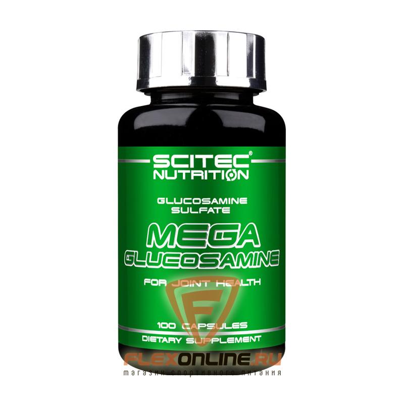 Суставы и связки Mega Glucosamine от Scitec