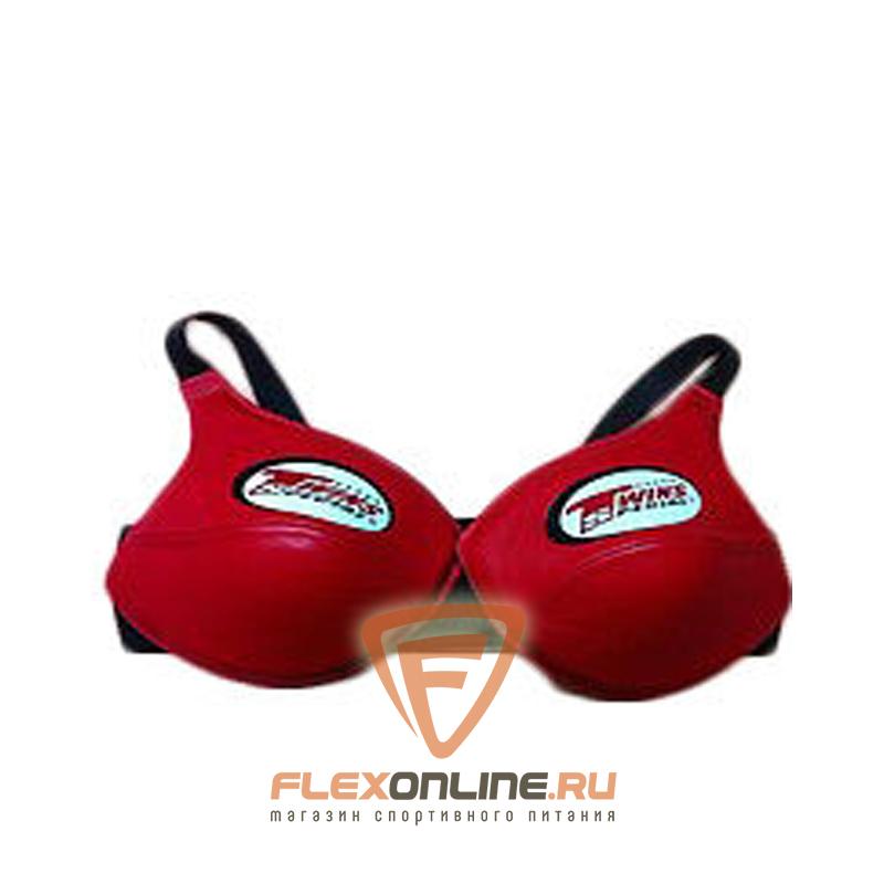 Защита тела Защита груди женская, размер S, красная, нат.кожа от Twins
