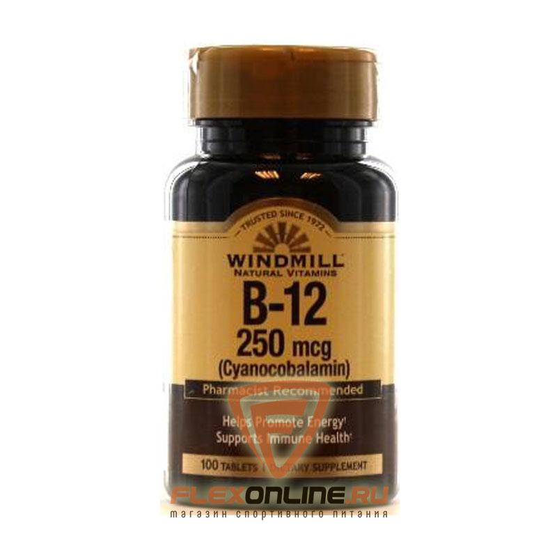 Витамины B-12, 250 mcg от Windmill