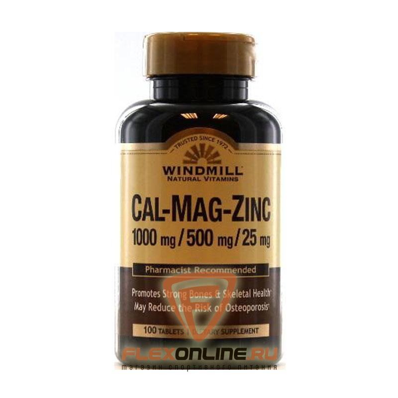 Витамины Cal-Mag-Zinc 1000mg/500mg/25mg от Windmill