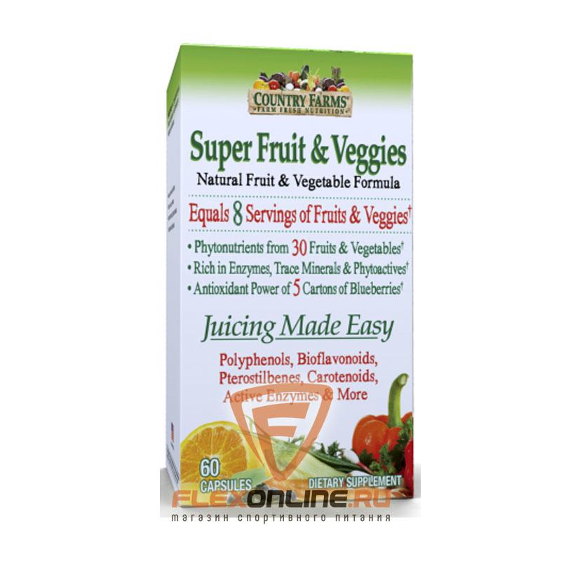 Витамины Super Green Super Fruit & Veggies от Windmill