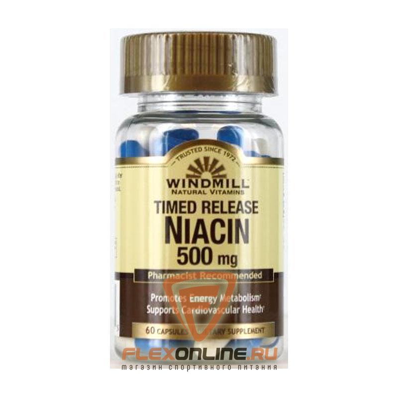 Витамины Timed release Niacin 500mg от Windmill