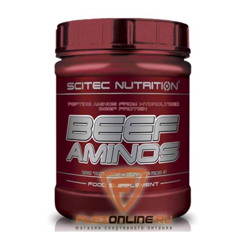 Аминокислоты Beef Aminos от Scitec