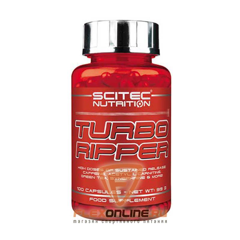 Жиросжигатели Turbo Ripper от Scitec