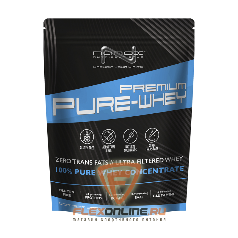 Протеин Premium Pure-Whey от Nanox