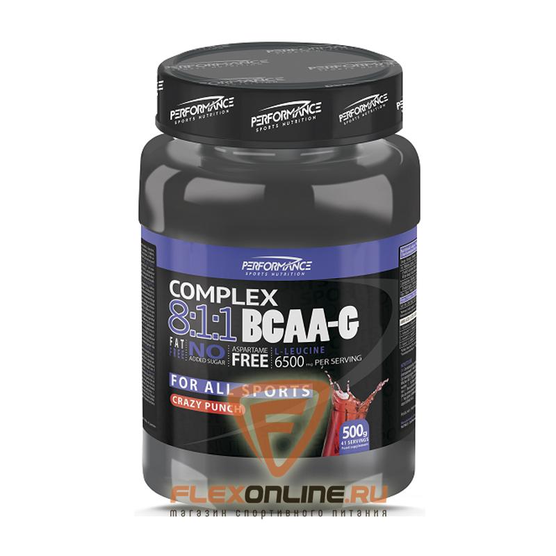 BCAA COMPLEX 8:1:1 BCAA-G от Performance