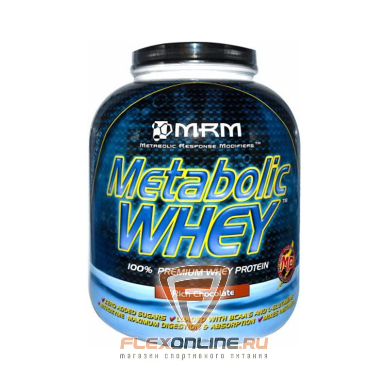 Протеин Metabolic Whey от MRM