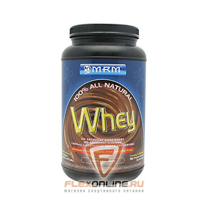 Протеин 100% All Natural Whey от MRM