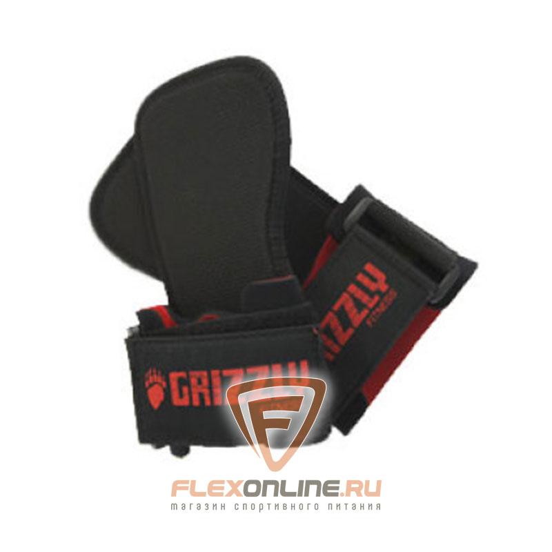 Ремни для тяги Ремни для тяги с фиксацией кисти от Grizzly