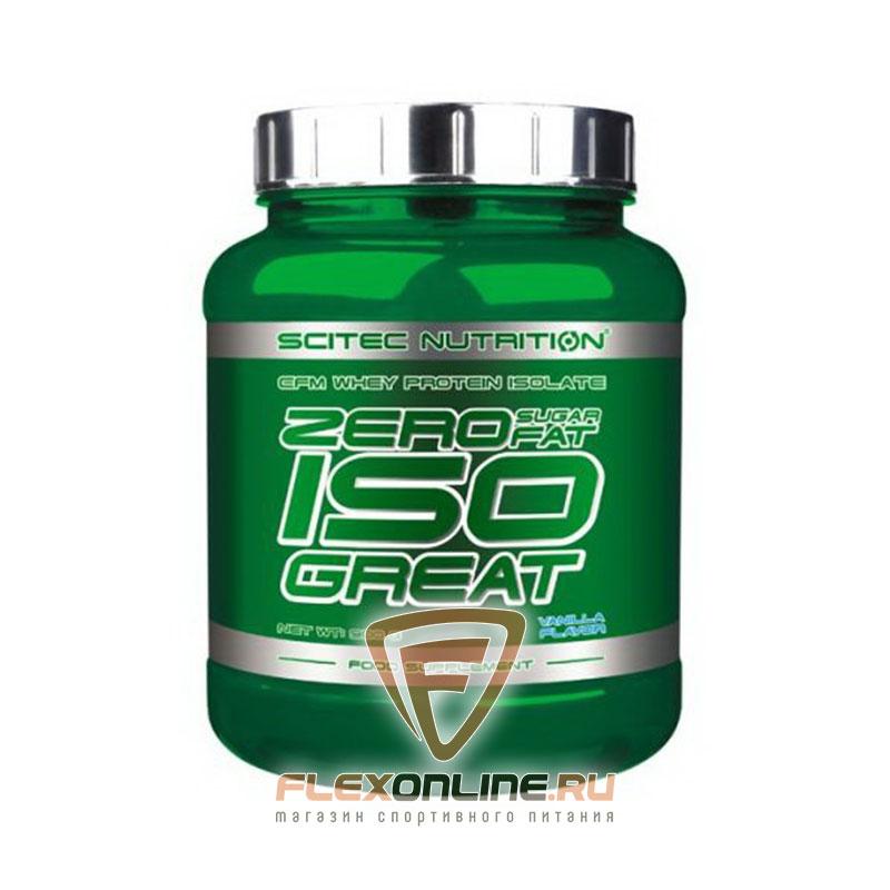 Протеин Zero Carb ISO Great от Scitec