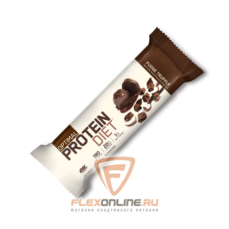 Шоколадки Protein Diet Bar от Optimum Nutrition