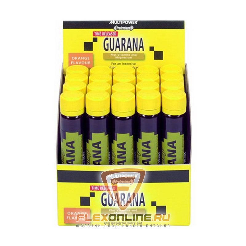 Энергетики Guarana plus vitamins and magnesium от Multipower