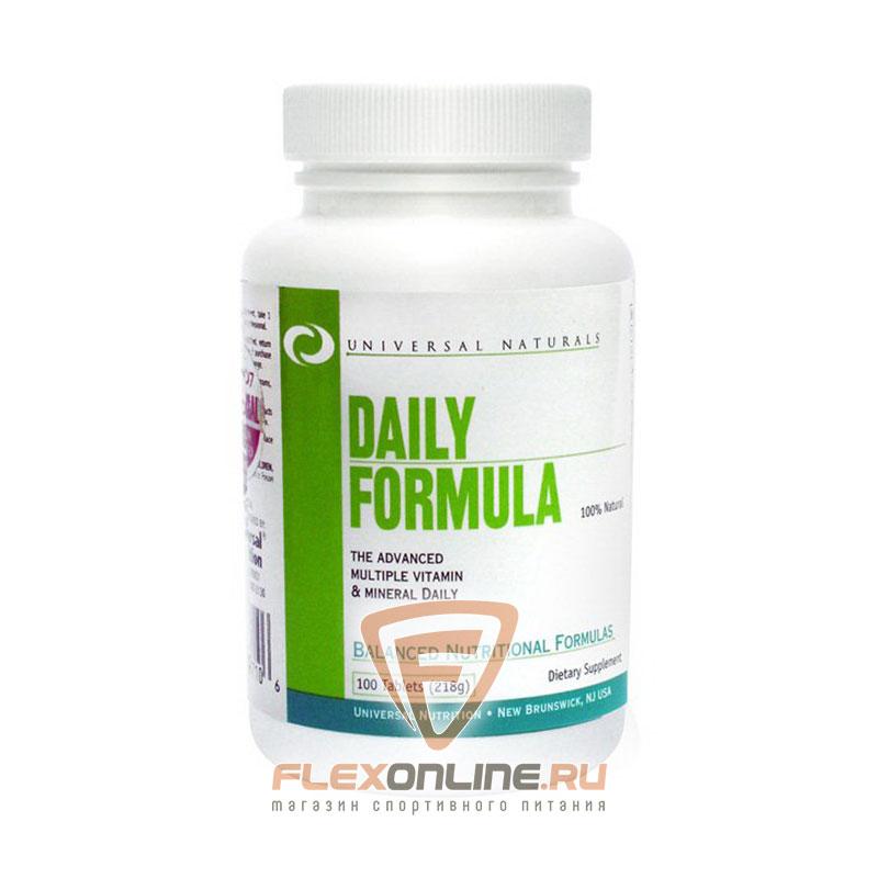 Витамины Daily Formula от Universal