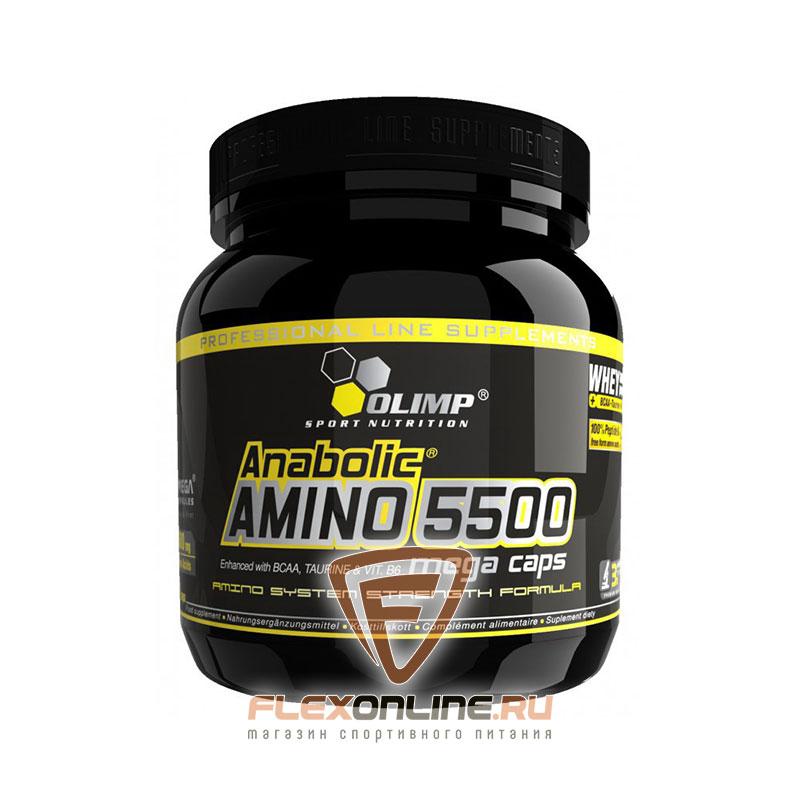 Аминокислоты Anabolic Amino 5500 от Olimp