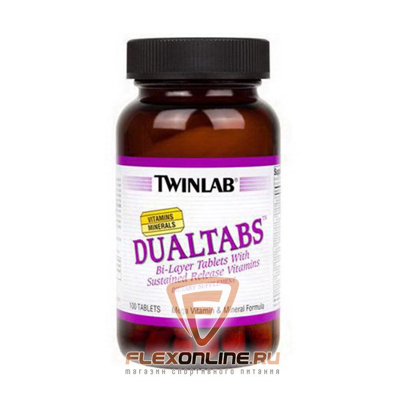 Витамины Dual Tabs от Twinlab
