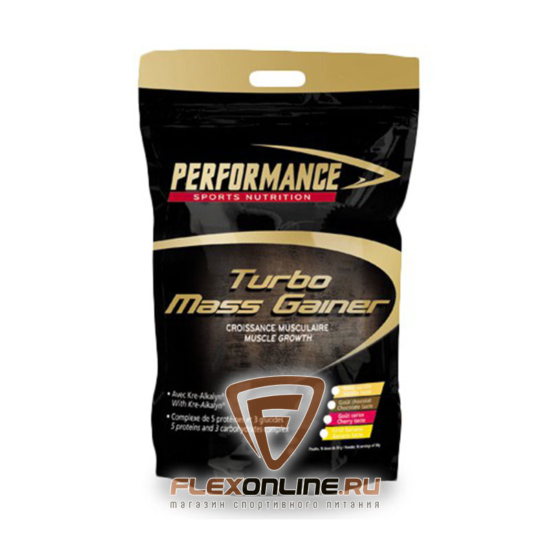 Гейнер Turbo Mass Gainer от Performance