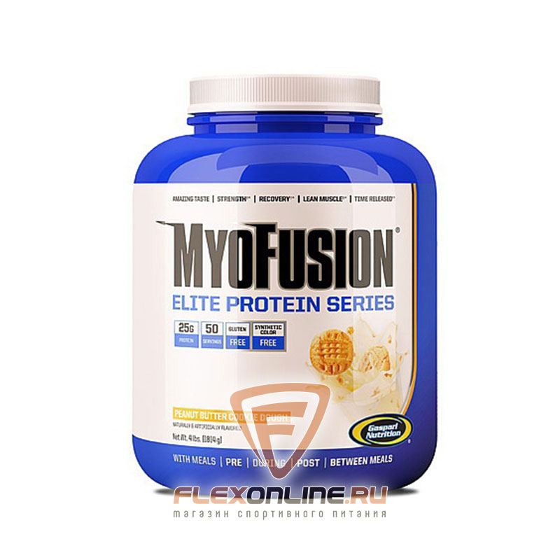 Протеин Myofusion Elite от Gaspari