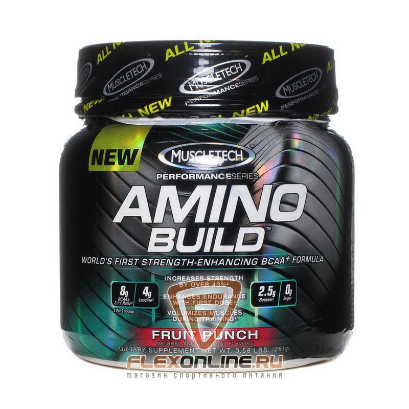 Аминокислоты Amino Build от MuscleTech