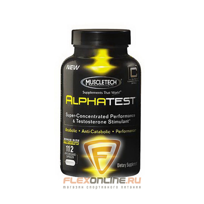 Тестостерон Alpha Test от MuscleTech