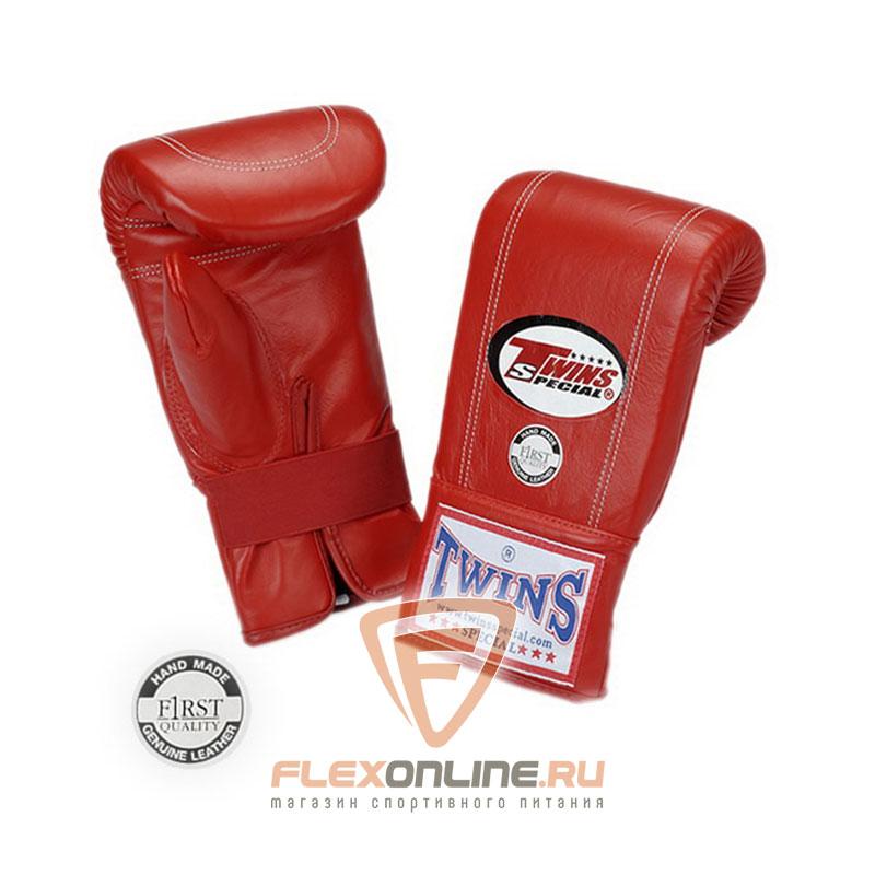 Cнарядные перчатки Перчатки снарядные на резинке  M красные от Twins