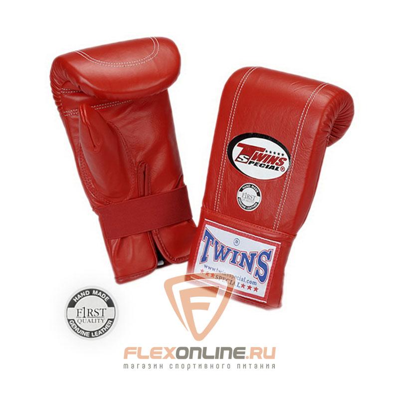 Cнарядные перчатки Перчатки снарядные на резинке  L красные от Twins