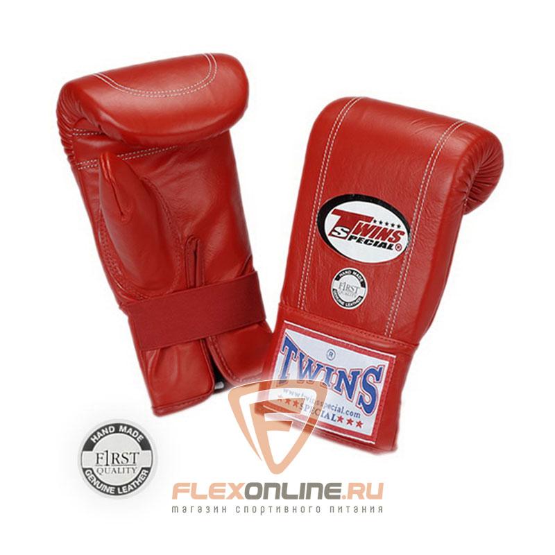 Cнарядные перчатки Перчатки снарядные на резинке  XL красные от Twins