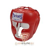 Шлемы Боксерский шлем тренировочный с креплением на липучке XL красный от Twins