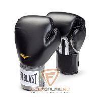 Боксерские перчатки Перчатки боксерские тренировочные Pro Style 14 унций чёрные от Everlast
