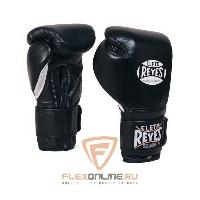 Боксерские перчатки Перчатки боксерские на липучке 6 унций чёрные от Cleto Reyes