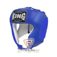 Шлемы Шлем тренировочный L синий от King