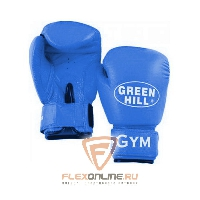 Боксерские перчатки Перчатки боксерские GYM 8 унций синие от Green Hill