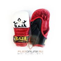 Перчатки MMA Перчатки MMA на липучке M белые от Raja