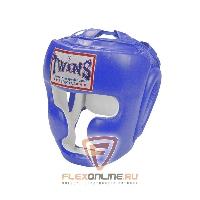 Шлемы Боксерский шлем тренировочный с креплением на липучке M синий от Twins