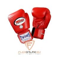 Боксерские перчатки Перчатки боксерские тренировочные 16 унций красные от Twins