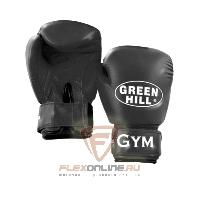 Боксерские перчатки Перчатки боксерские GYM 10 унций чёрные от Green Hill