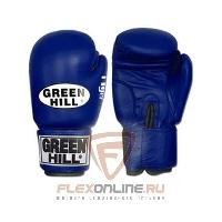 Боксерские перчатки Перчатки боксерские TIGER 8 унций синие от Green Hill