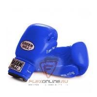 Боксерские перчатки Перчатки боксерские SUPER STAR 16 унций синие от Green Hill
