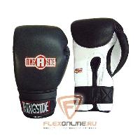 Боксерские перчатки Боксерские перчатки тренировочные 18 унций черно-белые от Ringside